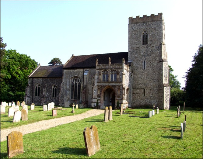 Yaxley church